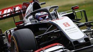 """Romain Grosjean: """"Estoy contento, pero tenemos muchas más trabajo por hacer"""""""