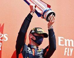 """Max Verstappen: """"Me encanta que nunca nos rendimos y tomamos riesgos; hoy es un gran día"""""""