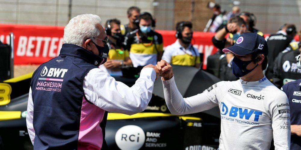 """Lance Stroll: """"Nico hizo también un buen trabajo y es un gran resultado para el equipo"""""""