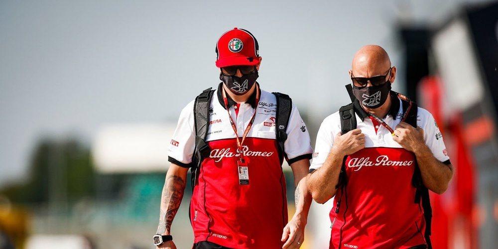 """Räikkönen: """"No estoy contento por estar fuera de la zona de puntos; nos marchamos sin nada"""""""