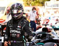 """Lewis Hamilton: """"Es un gran resultado para el equipo, aunque mañana será un escenario diferente"""""""