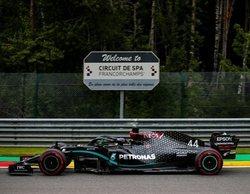 Lewis Hamilton lidera los Libres 3 y Ferrari roza el drama en Spa con un ritmo deplorable