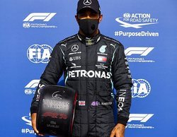 "Lewis Hamilton suma su pole nº 93: ""Estas dos vueltas en Q3 han sido casi perfectas"""