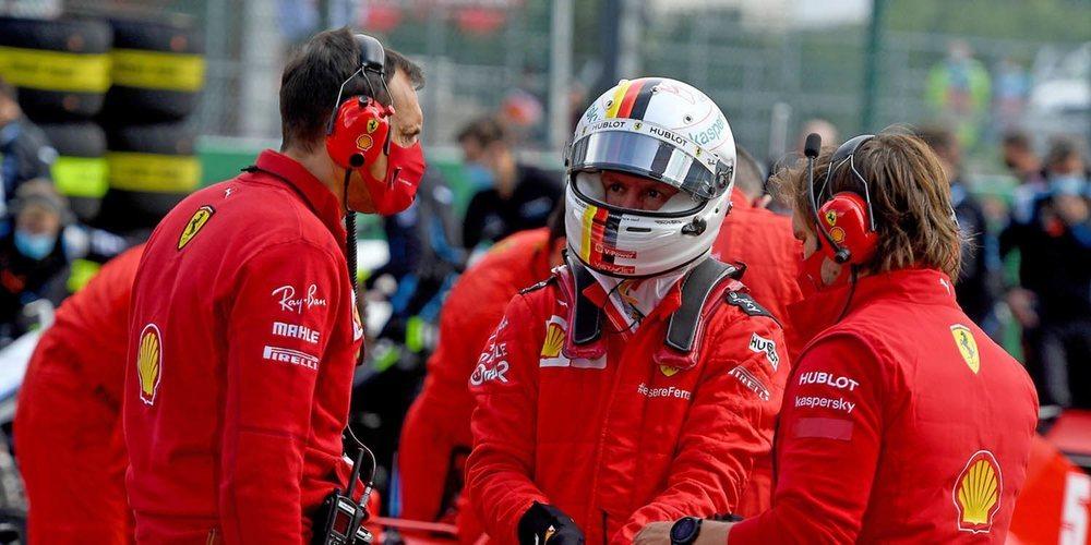 """Sebastian Vettel: """"El circuito de Spa ha expuesto nuestras debilidades más que en los otros"""""""
