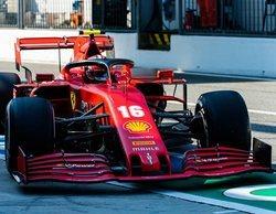 """Leclerc: """"El coche ha sido muy difícil de pilotar, sufrimos con el equilibrio y con la degradación"""""""