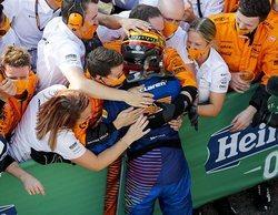 """Carlos Sainz: """"Es imposible estar decepcionado con la segunda posición, pero quería esa victoria"""""""