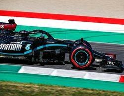 "Lewis Hamilton: ""Estoy tan contento por estar arriba porque ha sido un fin de semana duro"""