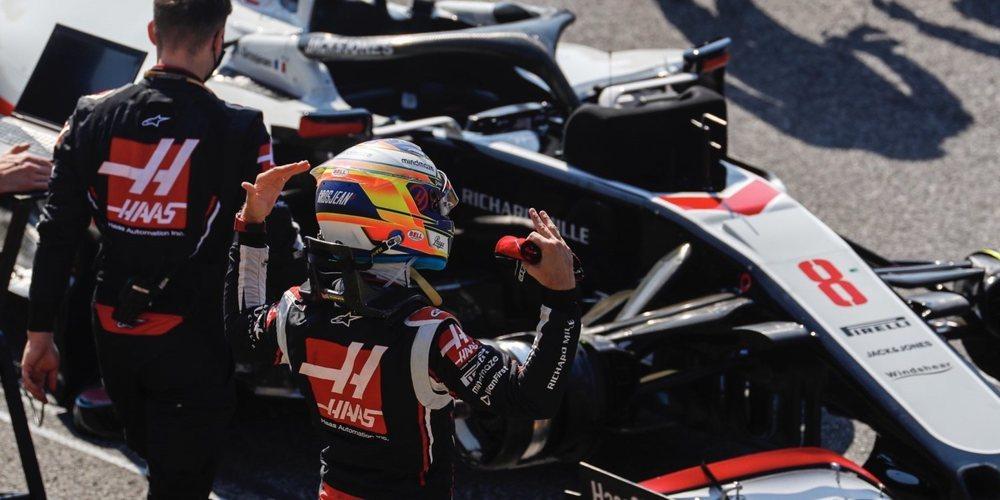 """Romain Grosjean: """"Cuando faltan 2 segundos por vuelta no hay mucho que pueda hacer"""""""