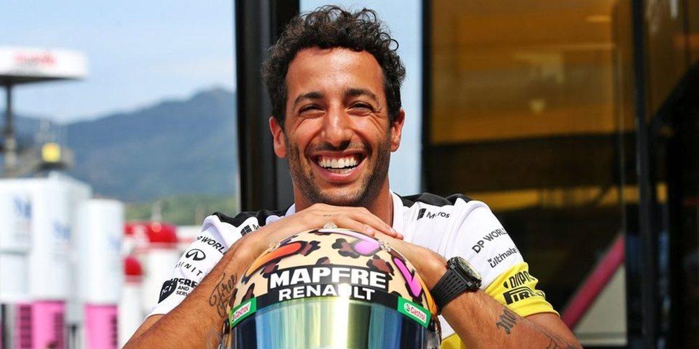 """Daniel Ricciardo: """"No me duele no acabar en el podio; el 4º sigue siendo un gran resultado"""""""
