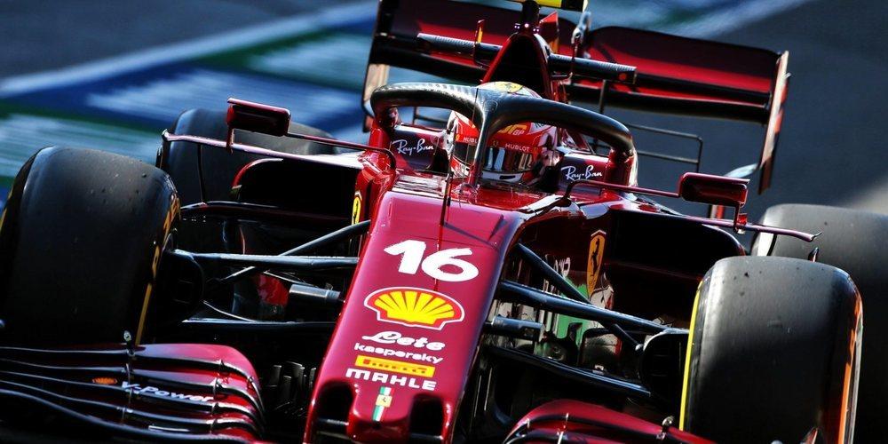 """Leclerc: """"Con suerte, pronto veremos mejores tiempos; el coche es muy difícil de conducir"""""""