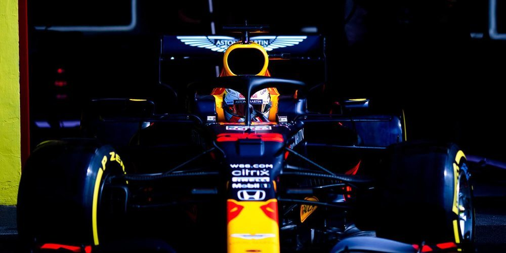 """Tanabe: """"Verstappen había perdido posiciones por un problema en el motor, lo estamos analizando"""""""
