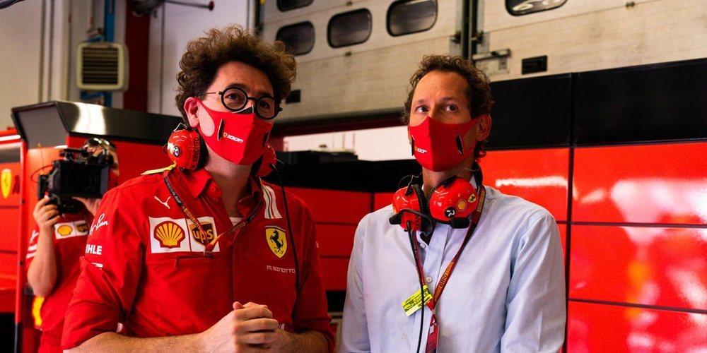 """Elkann, presidente de Ferrari: """"Tenemos a las personas correctas, lo que nos permitirá volver a ganar"""""""