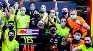 """Christian Horner, sobre el podio de Albon en Mugello: """"Será una inyección de confianza para él"""""""