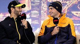 """Brown: """"Teníamos la capacidad de que Sainz no se marchara a Ferrari, pero queríamos a Ricciardo"""""""
