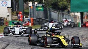 "Esteban Ocon, sobre Daniel Ricciardo: ""Estuvimos igualados durante todo el fin de semana en Mugello"""
