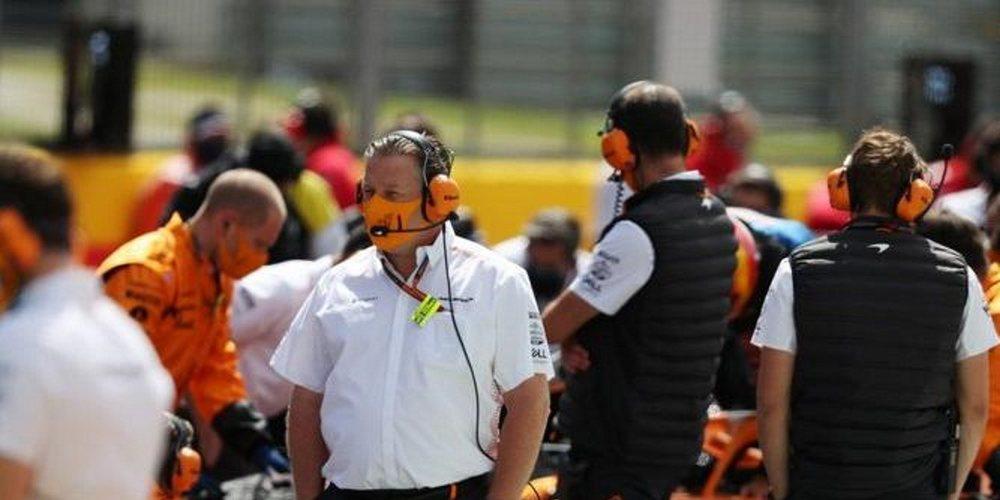 """Zak Brown: """"Todo lo que hacemos en McLaren lo diseñamos y producimos nosotros mismos"""""""