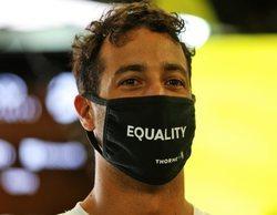 """Daniel Ricciardo: """"Es bueno vernos en lo alto de nuevo hoy, me da confianza"""""""