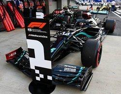 """Hamilton: """"Es positivo haberme llevado la pole, pero esta pista es la peor para estar ahí"""""""