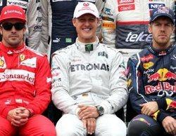 Alonso comprende el paso de Vettel por Ferrari y se queda con Schumacher como el mejor