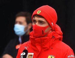 """Leclerc: """"Esperaba que pudiéramos rodar por la tarde, pero la situación no había cambiado"""""""