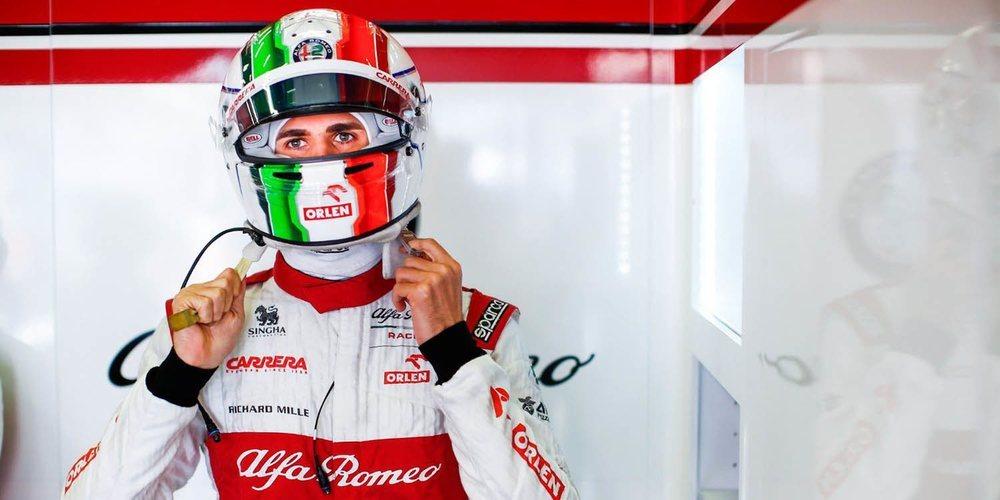 """Antonio Giovinazzi: """"Después de las circunstancias difíciles, estoy contento por llegar a Q2"""""""