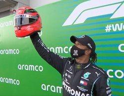Hamilton gana en Nürbrurging e iguala el récord histórico de victorias en la Fórmula 1