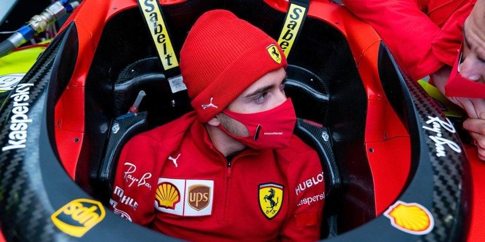 """Charles Leclerc: """"Estoy contento con la mejora en las últimas semanas; estamos avanzando"""""""