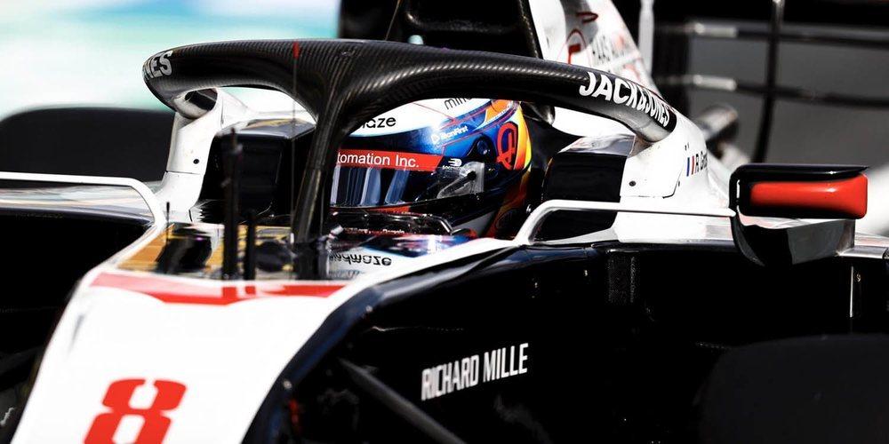 """Romain Grosjean: """"Era cuestión de tiempo que consiguiéramos un buen resultado"""""""