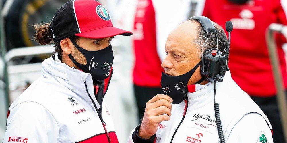 """Giovinazzi: """"Estoy contento por llevar un punto a casa; el objetivo era el Top 10 y lo conseguimos"""""""
