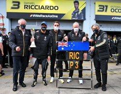 """Abiteboul se siente culpable con Ricciardo:  """"No pude mostrar el verdadero potencial del proyecto"""""""