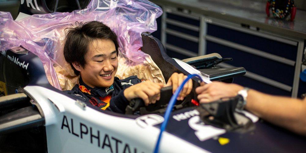 """Yuki Tsunoda: """"Mi principal prioridad es hacer esos 300 kilómetros"""""""