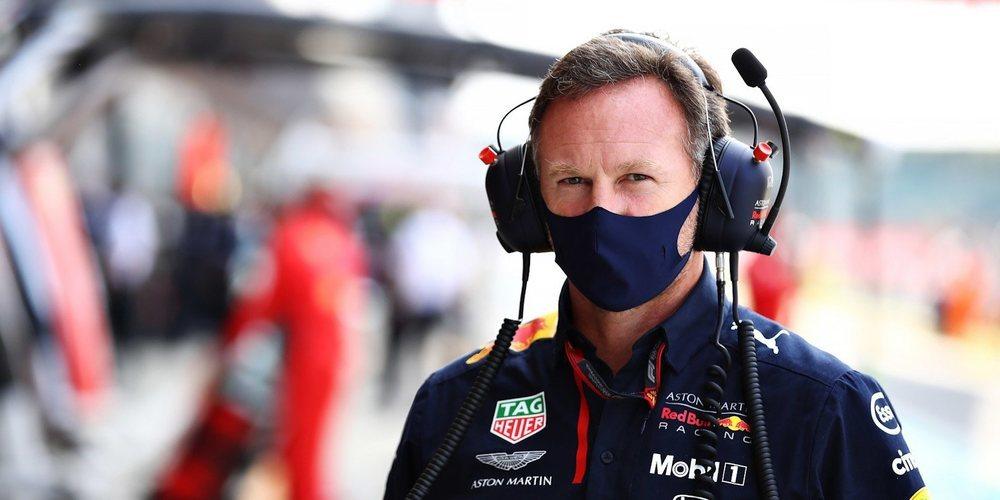 """Christian Horner:  """"Es inconcebible pensar que los dos equipos pudieran operar con diferentes motores"""""""
