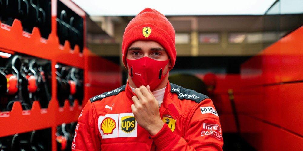 """Leclerc: """"Logramos extraer el máximo del coche con bajo combustible, con alto no"""""""