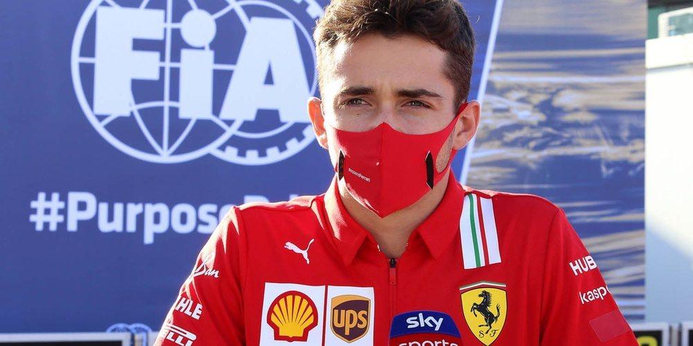 """Leclerc: """"Estoy contento porque hemos extraído todo; puedo estar en la lucha por un gran resultado"""""""