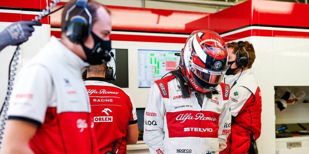 """Räikkönen: """"Intentamos hacer todo lo posible, estoy decepcionado porque no ha sido suficiente"""""""