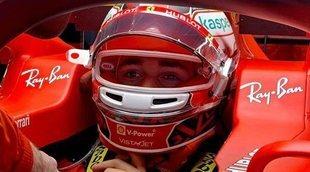 """Leclerc: """"Hemos tenido un fin de semana con una clasificación decente y una buena carrera"""""""