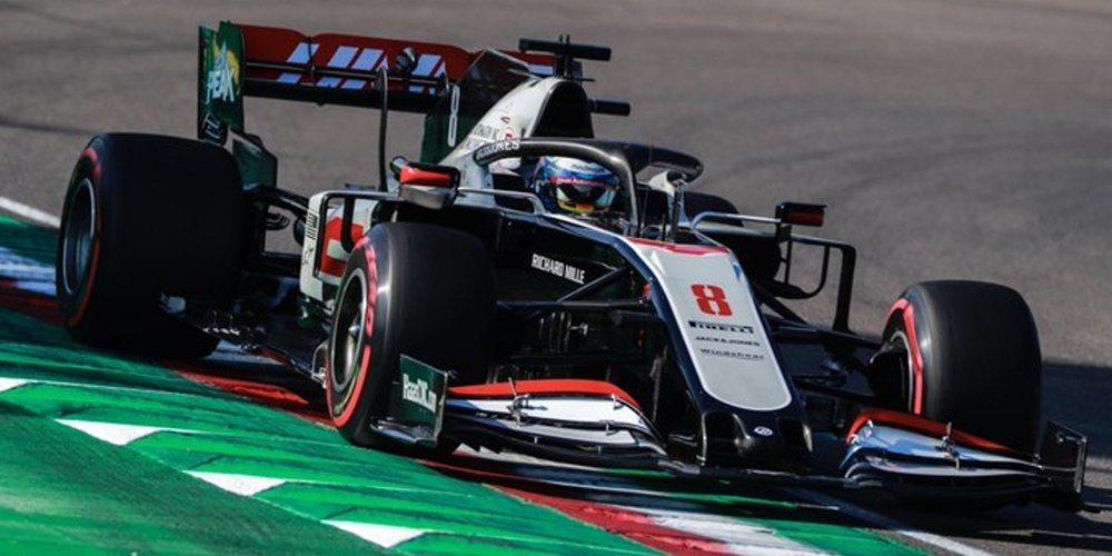 """Romain Grosjean: """"No tenemos el coche más rápido, pero cada vuelta aquí es divertida"""""""