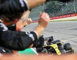 """Daniel Ricciardo: """"¡Dos podios en tres carreras! Estoy muy contento, valió la pena arriesgar hoy"""""""