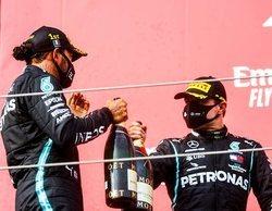Lewis Hamilton considera que no se valora el buen trabajo de Valtteri Bottas como tendría que ser