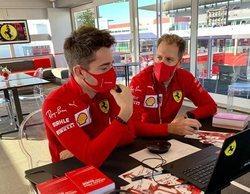 "Charles Leclerc: ""Gracias a Vettel he crecido como piloto y como persona"""