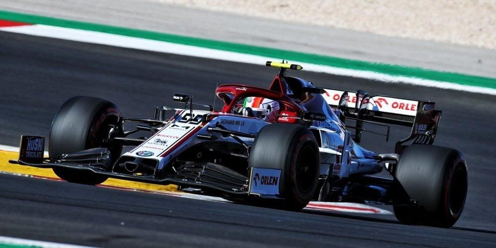 """Antonio Giovinazzi, sobre Kimi Räikkönen: """"Sigue siendo uno de los mejores"""""""