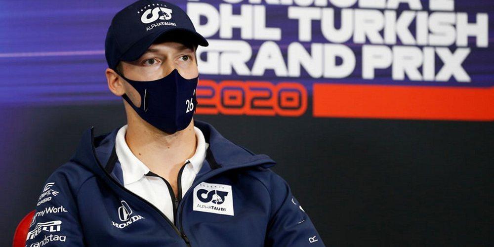 """Kvyat: """"No es agradable pelear con el coche durante toda la carrera y terminar sin recompensa"""""""