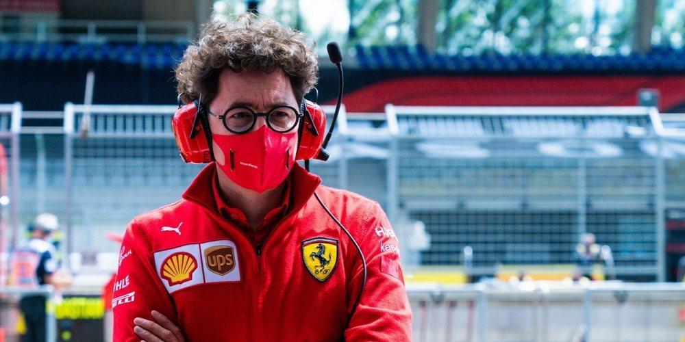 """Mattia Binotto respalda a Leclerc: """"Charles hizo un trabajo fantástico recuperándose"""""""