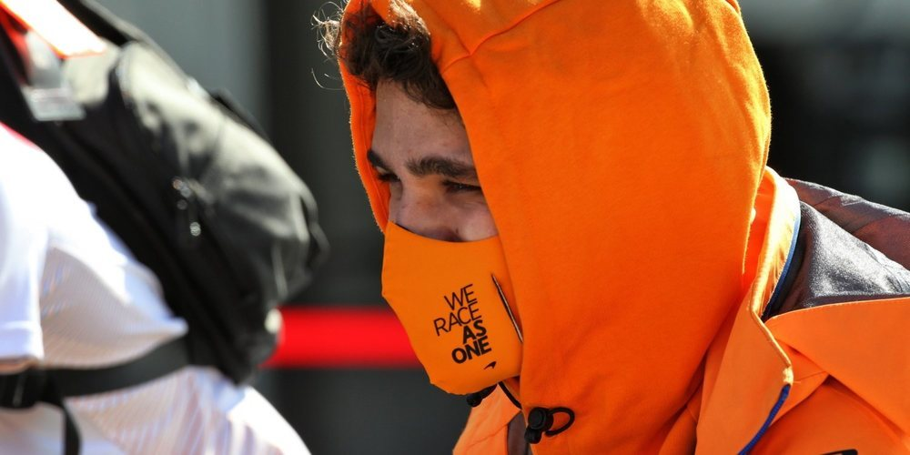 """Lando Norris, su primer año en F1: """"Me encontré cuestionándome a mí mismo, comparándome"""""""