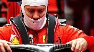 """Sebastian Vettel, del Ferrari: """"La temporada pasada era muy eficiente, con carga y sin resistencia"""""""