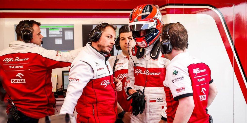 """Robert Kubica vuelve al FP1: """"Tengo muchas ganas de volver a ocupar mi puesto en Alfa Romeo"""""""