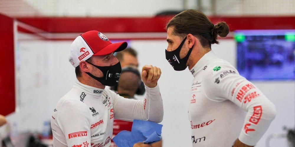 """Giovinazzi: """"El objetivo es llegar a Q2, habrá una lucha ajustada con nuestros rivales directos"""""""