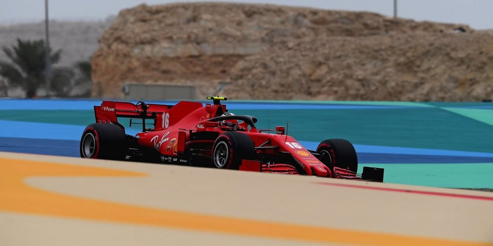 """Charles Leclerc: """"Es bastante difícil manejar el coche y cometí algunos errores"""""""