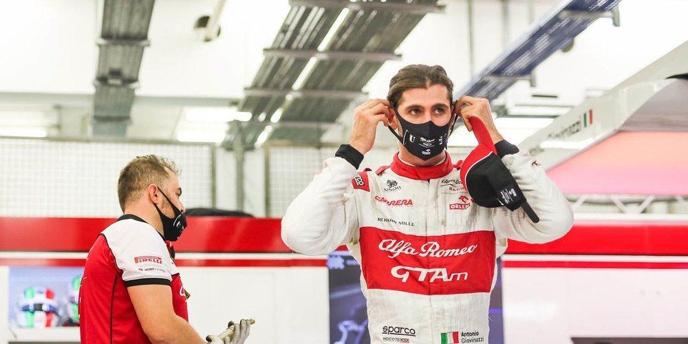 """Antonio Giovinazzi: """"Es frustrante porque estuvimos a menos de media décima de Q2"""""""