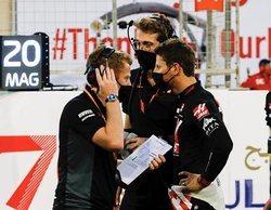 """Guenther Steiner: """"La buena noticia es que Romain está bien considerando lo que ha sucedido"""""""